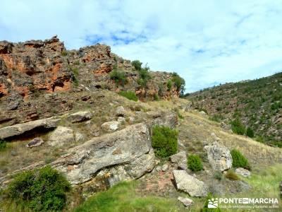 Valle de los Milagros - Parque Natural Cueva de la Hoz;ruta bola del mundo bosques en madrid